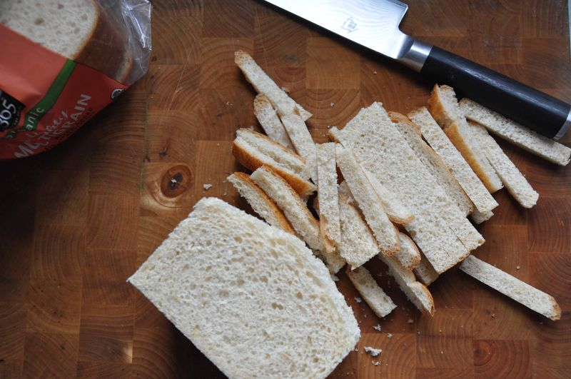 Off with the crusts