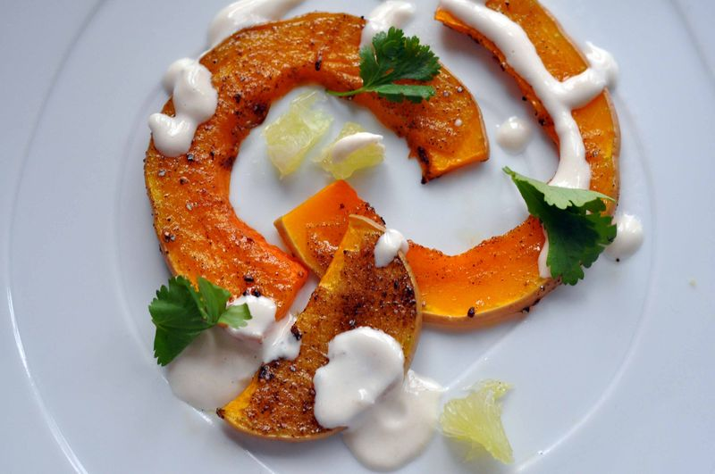 Cardamom butternut squash fancy