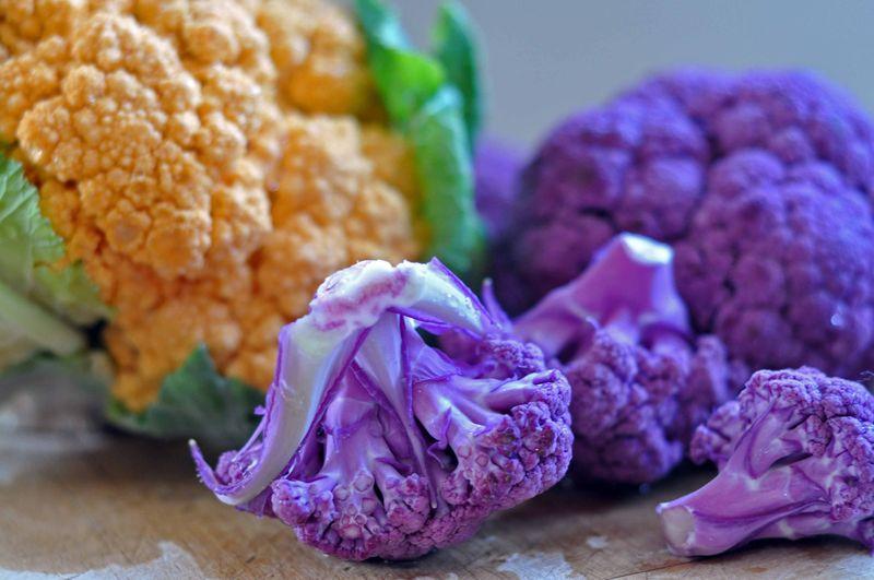 Crazy colors cauliflower