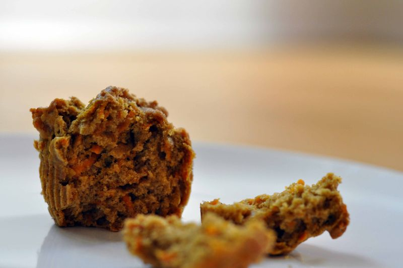 Sweet potato and maple after school muffins