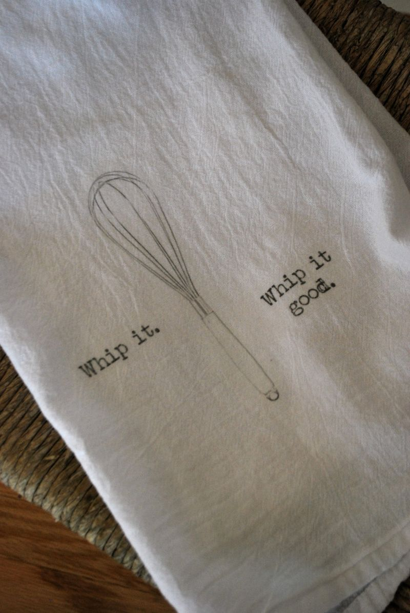 Whip It Up Dish Towel