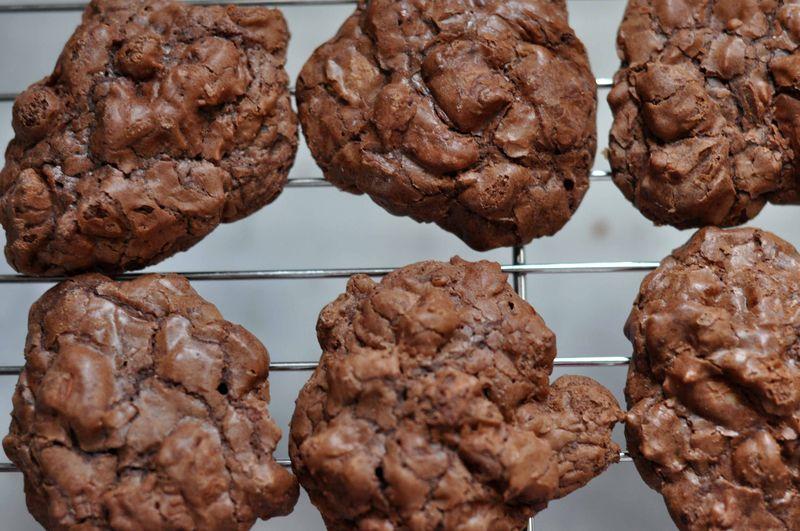 Dark chocolate pecan cookies 3