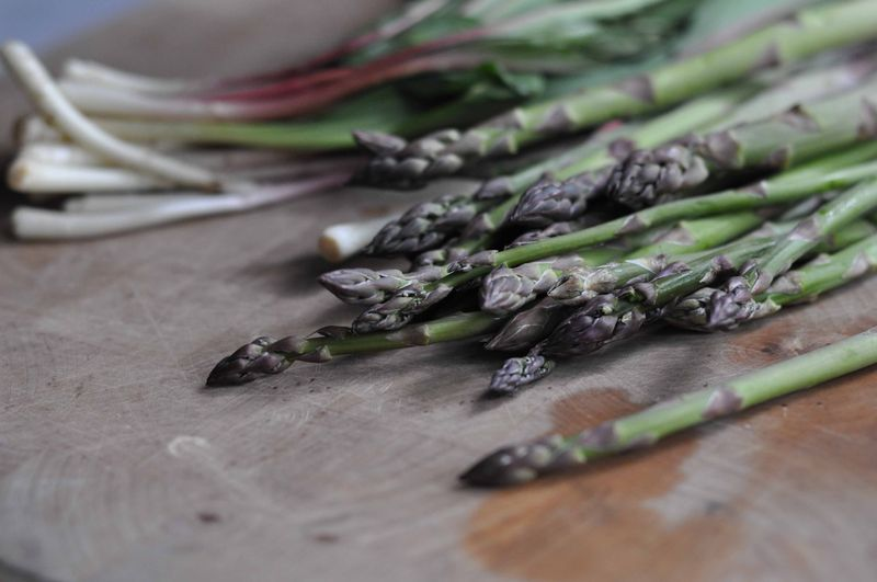 Asparagus and ramps
