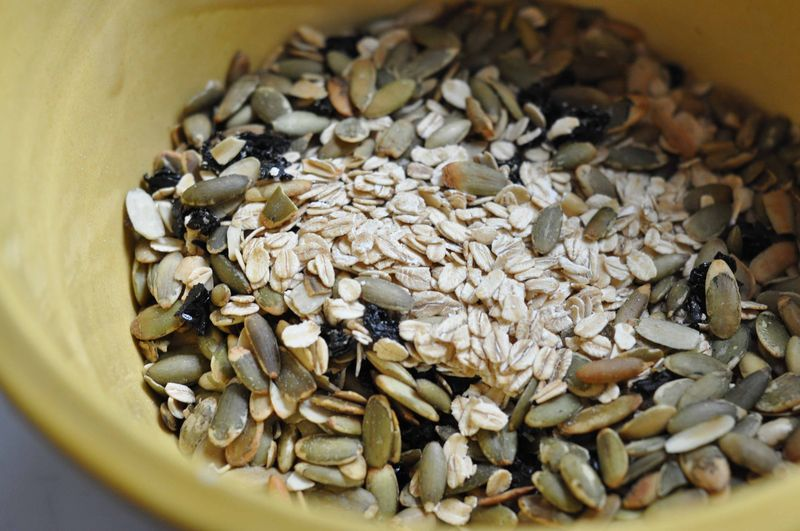 Oats and nuts