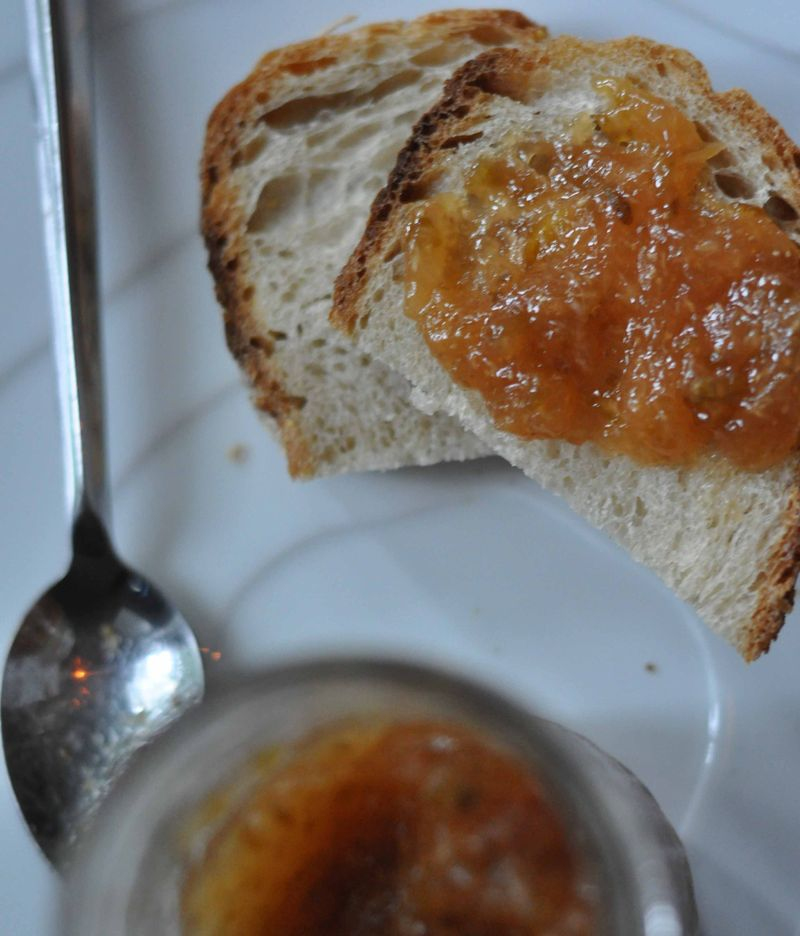 Fig, lemon & thyme jam